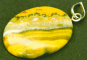 Anhänger Bumblebee-Cabochon. Bild 1