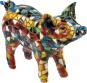 Buntes Mosaik-Schwein. Bild 1