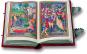 Das Stundenbuch der Sforza. Vorzugsausgabe. Faksimile und Kommentarband. Limitierte und nummerierte Auflage. Bild 1