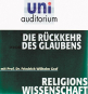Die Rückkehr des Glaubens - mit Prof. Dr. Friedrich Graf, CD Bild 1