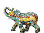 Elefant aus Mosaik. Bild 1