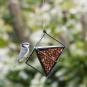 Erdnuss-Spender für Vögel, schwarz. Bild 1