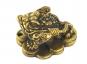 Geldfrosch aus Messing. Bild 1