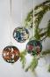 Gläserne Weihnachtsbaumkugeln »Tiffany«. Bild 1