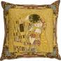 Gobelin Kissenbezug Gustav Klimt »Der Kuss«. Bild 1