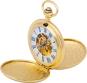 Goldene Taschenuhr Doppel-Savonette. Bild 1