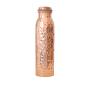 Große Wasserflasche aus Kupfer »gehämmert«. Bild 1