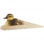 Holz Türstopper Ente Küken. Bild 1