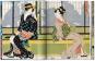 Japanese Woodblock Prints (1680-1938). Japanische Holzdrucke. Bild 1