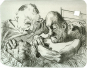 Johannes Grützke. Aus dem Leben Arthur Rimbauds. Grafikedition. Bild 1