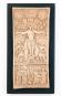 Kreuzigung Relief. Italien, um 1100 n.Chr. Bild 1
