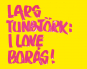 Lars Tunbjörk. I Love Boras. Bild 1