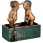 Loriot: Skulptur »Herren im Bad« Bild 1