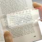 Lupen-Lesezeichen. Bild 1