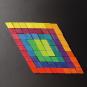 Magnet Relief Mosaik, Rhomben. Bild 1