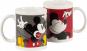 Mickey Mouse Kaffeebecher. 2 Motivtassen im Set. Bild 1