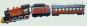 Eisenbahn mit Waggons aus Blech. Bild 1