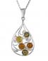 Bernstein-Kette »Ornament oval«. Bild 1