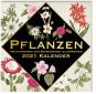 Pflanzen. Meisterwerke der botanischen Illustration. Wandkalender 2021. Bild 1
