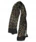 Schwarzer Schal aus Seide »Klimt«. Bild 1