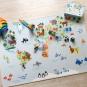 Spielteppich Weltkarte. Bild 1