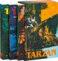 Tarzan bei den Affen. Tarzan und der Verrückte. Tarzan und die Schiffbrüchigen. Drei Abenteuerromane im Schuber. Bild 1