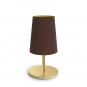 Tischlampe »Dandy«, schokoladenbraun. Bild 1