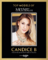 Top Models of MetArt. Candice B. Original Deutsch-Englische Edition. Bild 1