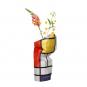 Vasenhülle »Mondrians Komposition«. Bild 1