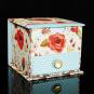 Memo Cube »Vintage Blooms«. Bild 1