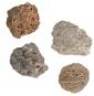 Ausgrabungsset mit 5 Edelsteinen. Bild 2