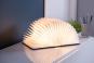 Buch als Lampe, klein, Leder-Edition. Bild 2
