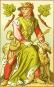 Spielkarten »1886 - Mittelalter-Motive«. Bild 2