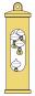 »Galileiglas« mit Wandhalterung in luxuriöser Geschenkbox. Bild 2