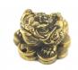 Geldfrosch aus Messing. Bild 2