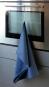 Geschirrhandtuch aus Leinen, dunkelblau. Bild 2
