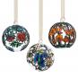 Gläserne Weihnachtsbaumkugeln »Tiffany«. Bild 2