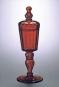 Glass of the Alchemists. Das Glas der Alchemisten. Lead Crystal - Gold Ruby 1650-1750. Bild 2