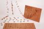 Holzpostkarten »Adventskalender«. Bild 2