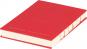 Kleines Skizzenbuch mit linierten Seiten, rot. Koptische Bindung. Bild 2