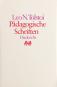 Leo N. Tolstoi. Pädagogische Schriften. 2 Bände. Bild 2