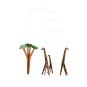 Mobile »Giraffen in der Savanne«. Bild 2