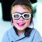 Rennfahrer Kostüm Kinder: Kappe & Brille. Bild 2