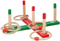 Ringspiel Holz 12-teilig, rot/grün. Bild 2