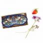 Schlafmaske »William Morris«, blau. Bild 2