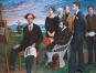 Schule der neuen Prächtigkeit. Bluth, Grützke, Koeppel, Ziegler. Gemälde und Dokumente einer Künstlergruppe. Bild 2