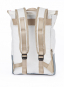 Segeltuchrucksack »Landgang Mini«, weiß/grau. Bild 2
