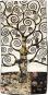 Seidenschal Gustav Klimt »Lebensbaum«, schwarz-weiß. Bild 2