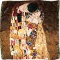 Seidentuch Gustav Klimt »Der Kuss II«. Bild 2