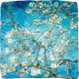 Seidentuch Vincent van Gogh »Mandelbaum«, blau. Bild 2